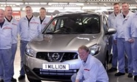 Английский завод Nissan выпустил миллионный Qashqai.