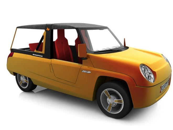 женевский автосалон бамбуковый концепт кар